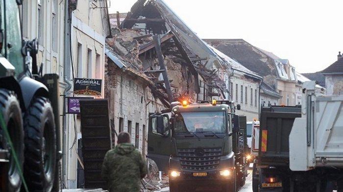 Украина направит 20 млн грн Хорватии, пострадавшей от землетрясения