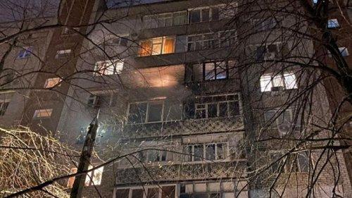 В Николаеве фейерверк вызвал пожар в жилом доме