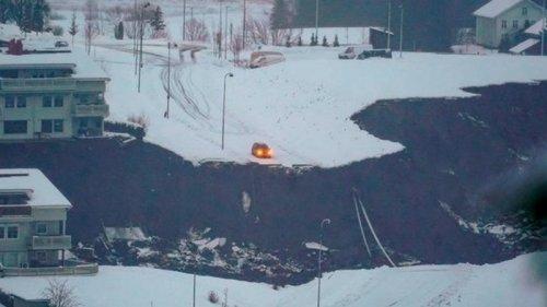 Оползень в Норвегии: спасатели нашли пять погибших