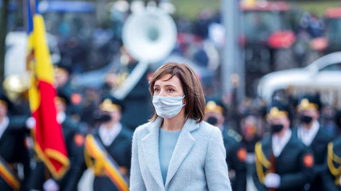 Санду рассказала о целях визита в Киев