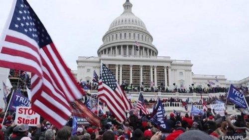 Нацгвардия США направляется к Конгрессу
