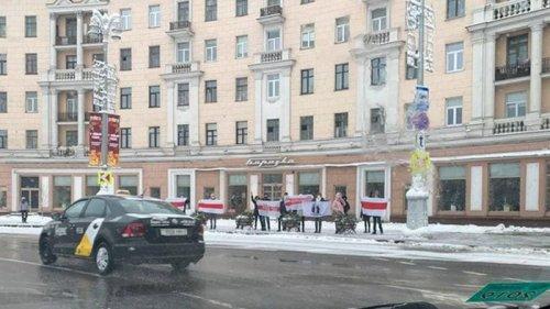 В Беларуси проходят акции протеста