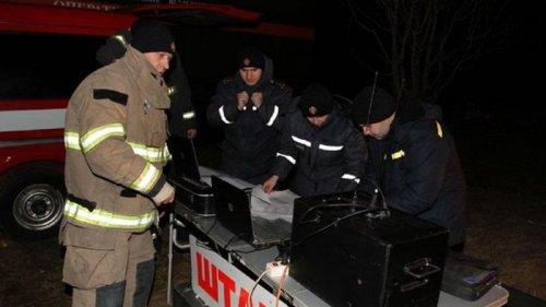 Пожар на месте взрыва газопровода в Лубнах погас