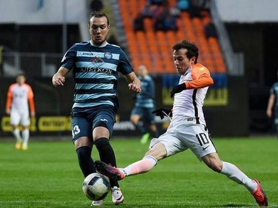 Донецкий Шахтер потерял очки в матче против Олимпика (видео)
