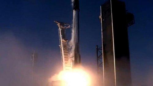 На орбиту выведена партия спутников Starlink