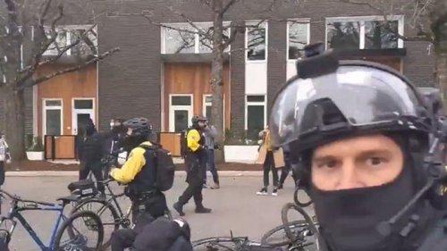 Сторонники Трампа устроили беспорядки в Портленде