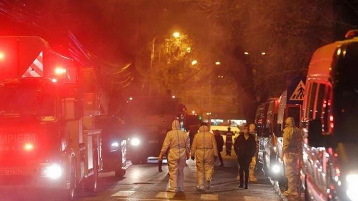 В Румынии горела COVID-больница, есть жертвы