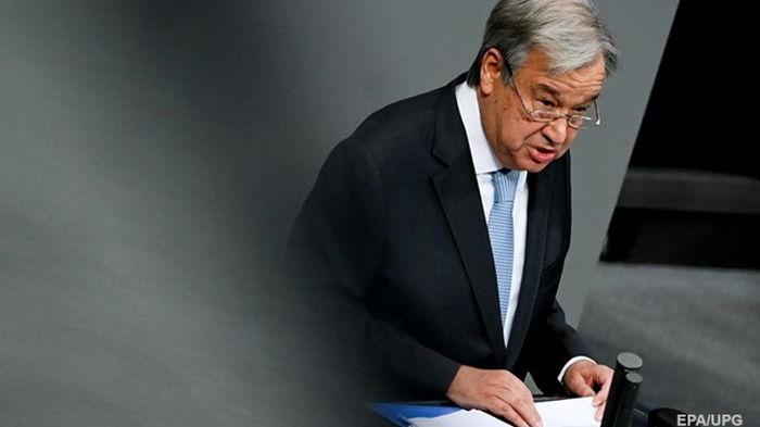 Генсек ООН назвал 2020-й годом смерти и отчаяния