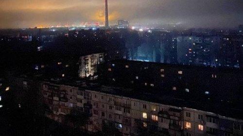 В Энергодаре произошла авария на ТЭС