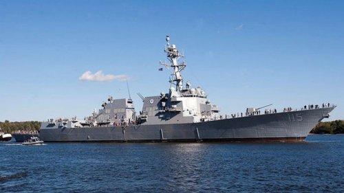 В Японию на постоянное базирование прибыл новейший эсминец США