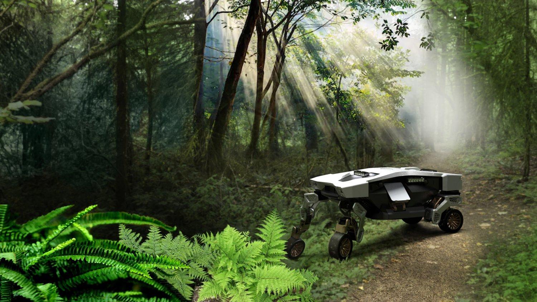 Ходит, ездит и летает: Hyundai представила концепт робота Tiger X-1
