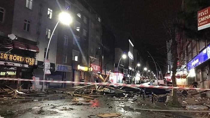 В Стамбуле бушевал мощный ураган (фото)