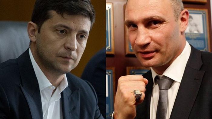 В новом рейтинге доверия лидируют Зеленский и Кличко