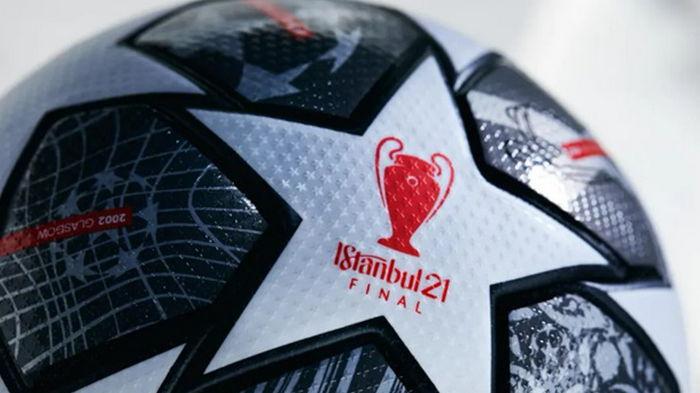 УЕФА представила официальный мяч плей-офф Лиги чемпионов 2021 года