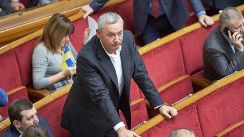 Народному депутату объявили подозрение за кнопкодавство