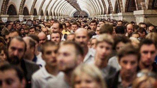 Число украинцев за год сократилось на 314 тысяч