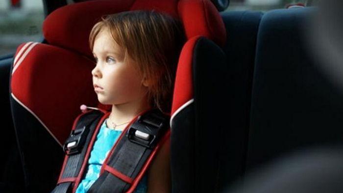 В Украине изменили правила перевозки детей в авто