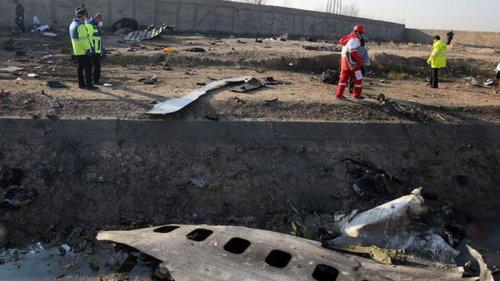 Иран заявил о завершении расследования катастрофы самолета МАУ