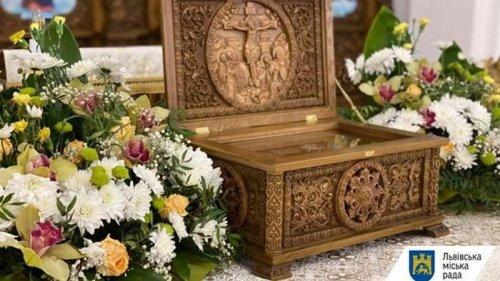 В Украину впервые привезли мощи святых Веры, Надежды, Любови и Софии
