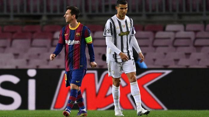 Месси и Роналду впервые за 16 лет не сыграют в 1/4 финала Лиги чемпионов