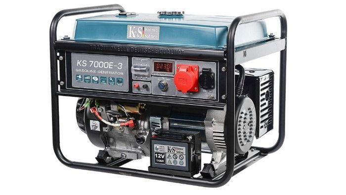Обзор электро генераторов ТМ Könner&Söhnen от Vinur
