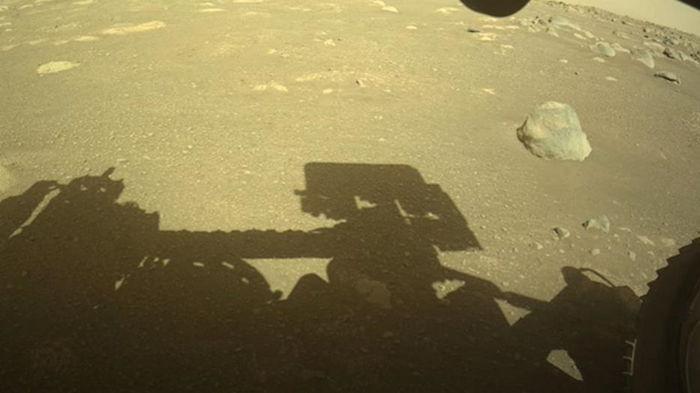 Perseverance записал звуки своего передвижения на Марсе (видео)