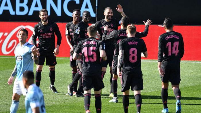 Дубль и ассист Бензема принес Реалу победу над Сельтой
