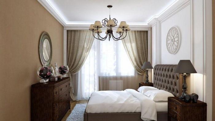 Выбор декоративной люстры для спальни