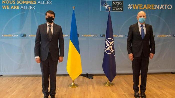 Разумков: Украина ждет план по членству в НАТО