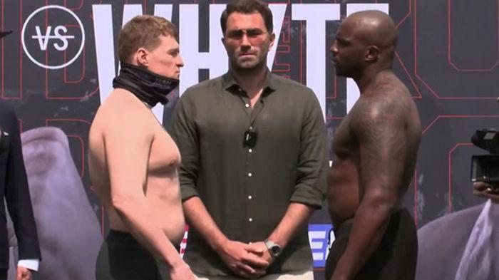 Поветкин набрал вес для реванша с Уайтом, британец - сбросил