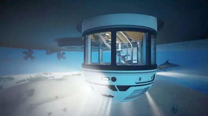 Британцы создали подводную смотровую платформу. Такое путешествие удивит каждого!