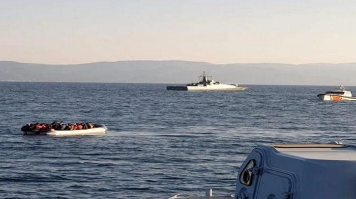 Турецкие катера мешали греческой береговой охране перехватить мигрантов (видео)