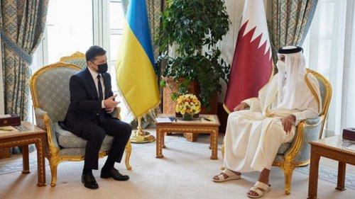 Зеленский рассказал о результатах поездки в Катар