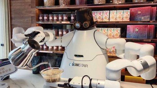 В Китае создали робота-баристу (фото)