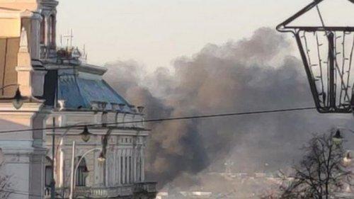 На заводе в Черновцах произошел крупный пожар