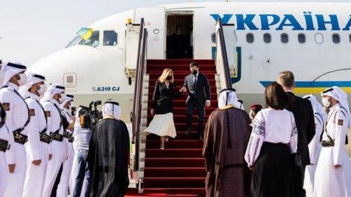 Зеленский объяснил, зачем поехал в Катар