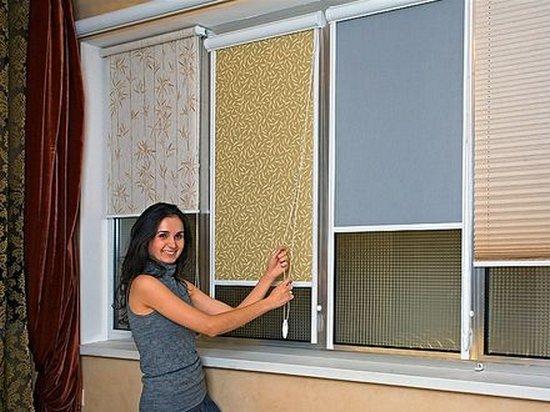 Как выбрать рулонные шторы на балкон
