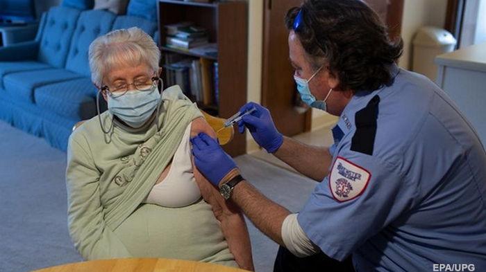В США вакцинировали от CОVID пятую часть населения