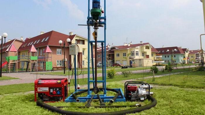 Преимущества бурения скважин на воду малогабаритной установкой