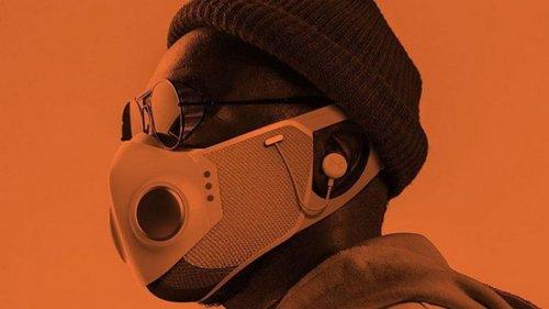В США представили защитную маску со встроенными наушниками, подсветкой...