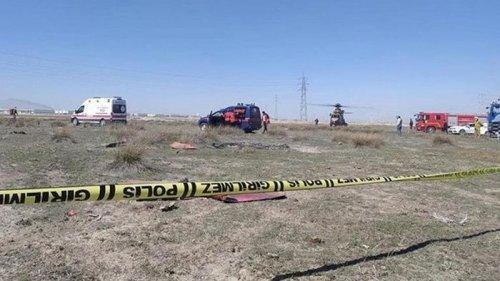 В Турции потерпел крушение военный самолет