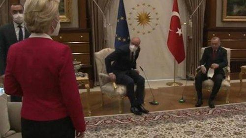 В Евросоюзе отреагировали на инцидент со стулом для главы ЕК в Турции