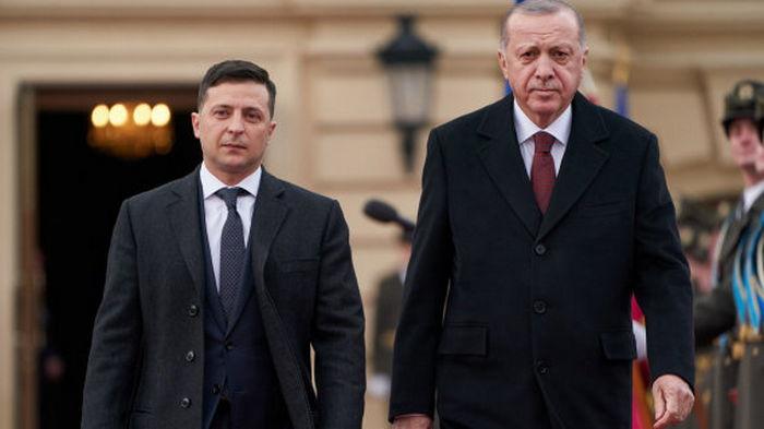 Завтра Зеленский посетит Турцию и встретится с Эрдоганом