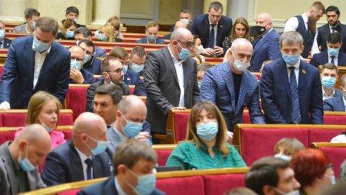 Рада отклонила два законопроекта о тарифах