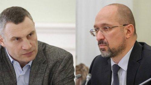 Кличко призвал Кабмин ввести локдаун по всей Украине. Шмыгаль заговорил о его отставке