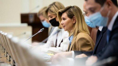 Елена Зеленская предложила создать Совет безбарьерности