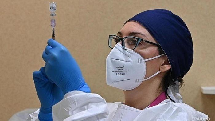 В Украине за день 13,5 тысяч COVID-вакцинаций