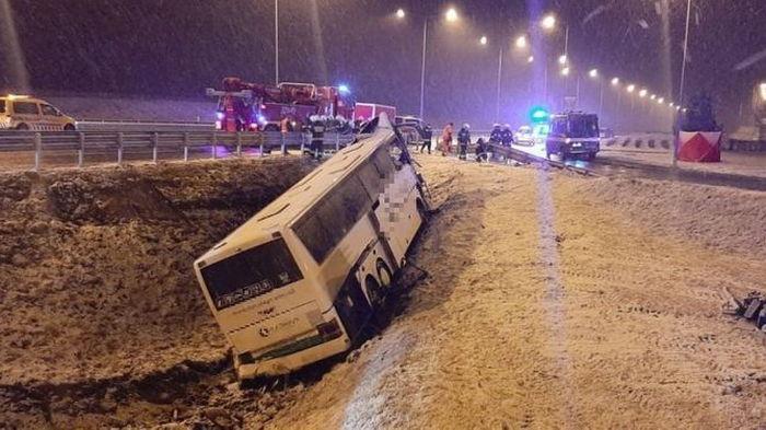 ДТП украинских автобусов в Польше: всех пострадавших выписали из больниц