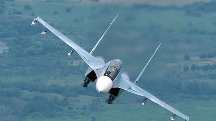 В Казахстане разбился истребитель Су-30 СМ