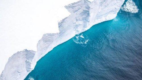 Некогда самый большой в мире айсберг практически растаял